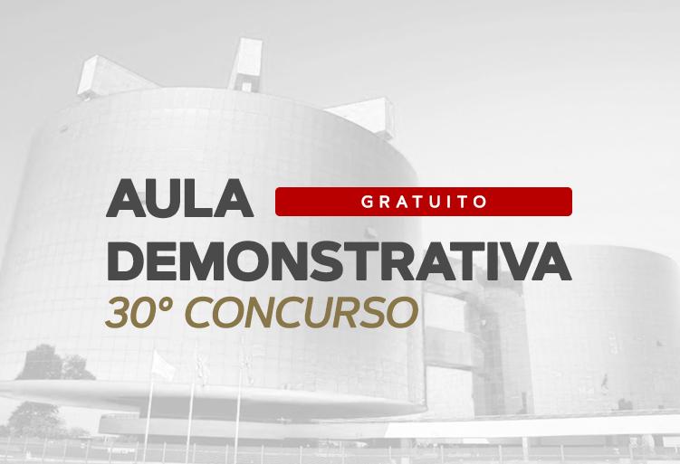 Aula Demostrativa- MPF 2019