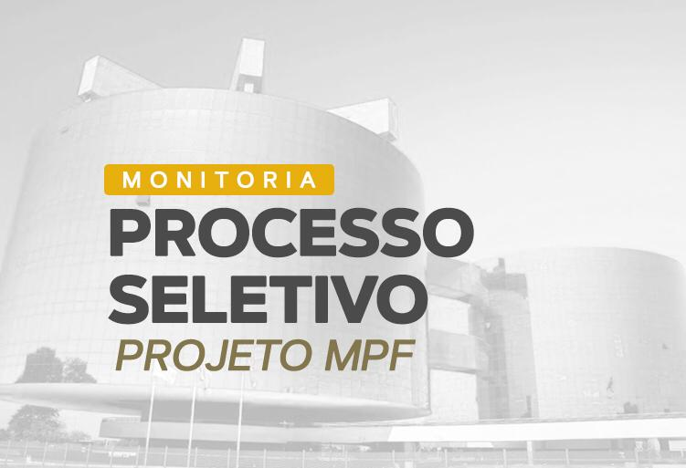 Monitoria 2020.2 - MPF