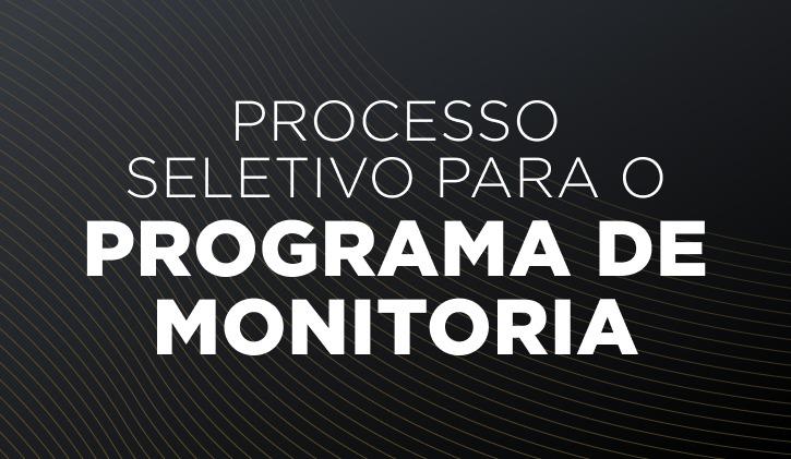 Monitoria 2021.1 - MPF
